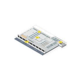 MPACT-A1O10-254-WR - MPACT PLASTIC SHELF BRACKET