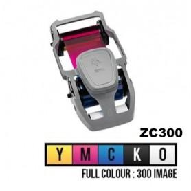 800300-550EM - Ribbon Colore YMCKO per Stampante Zebra ZC300 - 300 Stampe