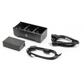 SAC-MPP-3BCHGEU1-01 - Caricabatterie a 3 Posizioni per Zebra ZQ610, ZQ620, ZQ630, QLn220, QLn320, QLn420, ZQ510, ZQ520