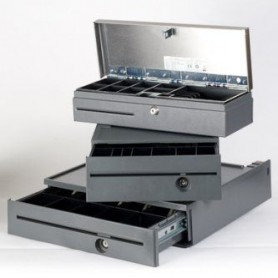 4810-FC4884 - SP-Wide Cash Drawer USB - Raven Black