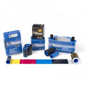 800300-309EM - CARD RIBBON MONO-WH 1500IMAGES ZC100/300